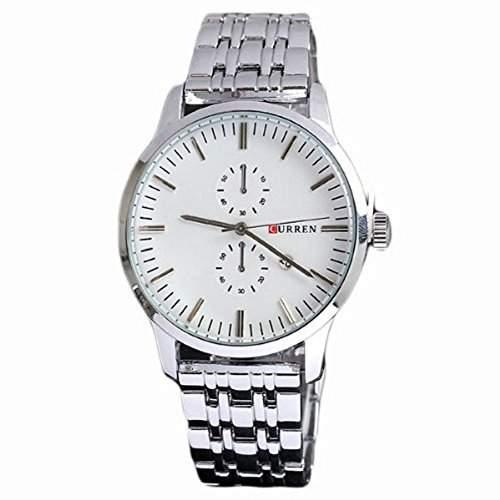 Curren Mode-Sport-Quarz Uhr aus Edelstahl neuer Marken-Mann-Uhren