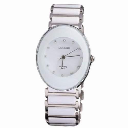 Fashion Watch Foir Liebhaber Luxusmarke oval Keramik wasserdicht fuer Herren beobachten