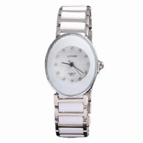 Fashion Watch Foir Liebhaber Luxusmarke oval Keramik wasserdicht fuer Frauen Uhr