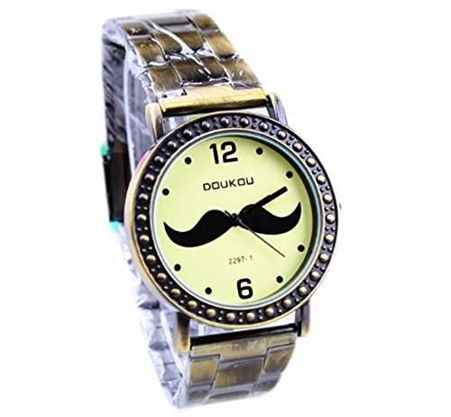 AplusWatch Fashion Retro Bronze Stretch-Armband Herrenuhren neuesten