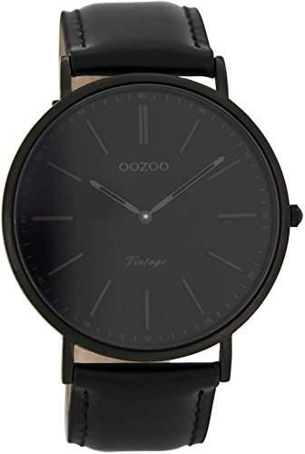 Oozoo Unisex-Armbanduhr Analog Quarz Leder C7301