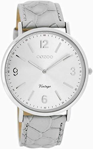 Oozoo Damen-Armbanduhr Analog Quarz Leder C7364