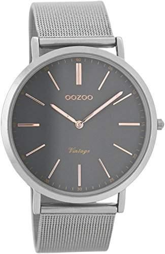 Oozoo Vintage Armbanduhr AnthrazitGrau C7393