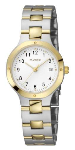 M-Watch Metal Classic Ladies Stainless Steel Date Watch A6293054840