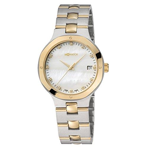 M WATCH Damen Armbanduhr Metal Classic Analog Quarz WRT 47211 SU