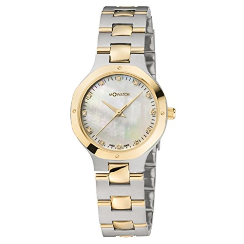 M WATCH Damen Armbanduhr Metal Classic Analog Quarz WRT 48110 SU