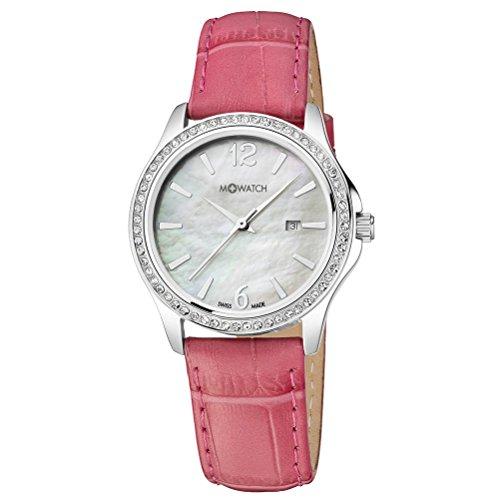 M WATCH Damen Armbanduhr Stones Analog Quarz WRS 13210 LC