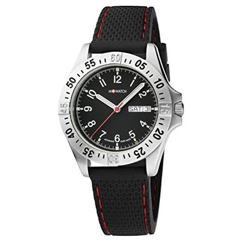 M WATCH Herren Armbanduhr Aqua Steel Analog Quarz WBX 36320 RB