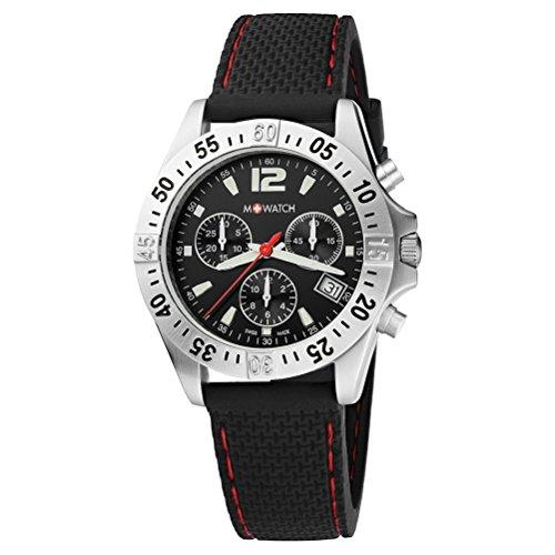 M WATCH Aqua Steel Chronograph Quarz WBX 36421 RB