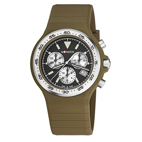 M WATCH Unisex Armbanduhr Maxi Colour Chronograph Quarz WYO 15420 RF