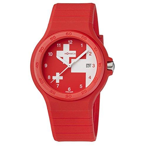 M WATCH Unisex Armbanduhr Maxi Swiss Analog Quarz WYO 15234 RC