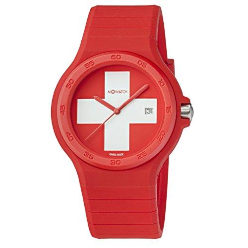 M WATCH Unisex Armbanduhr Maxi Swiss Analog Quarz WYO 15236 RC