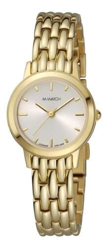 M-Watch Lady Chic Ladies Gold Ion-plated Watch A6583058620