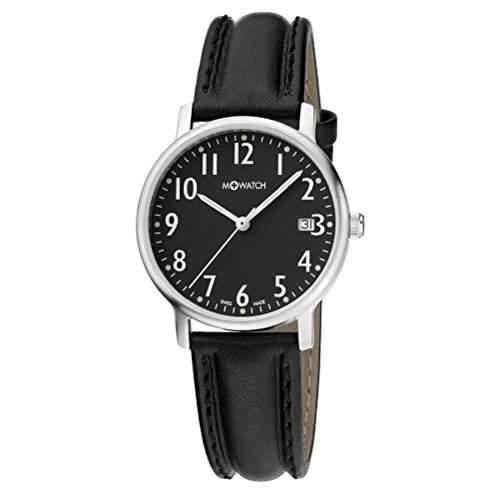 M-Watch Unisex-Armbanduhr Analog Quarz Leder MA6613054503