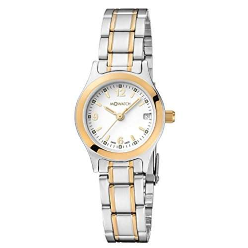 M-Watch Damen-Armbanduhr Analog Quarz Verschiedene Materialien MA6293051640