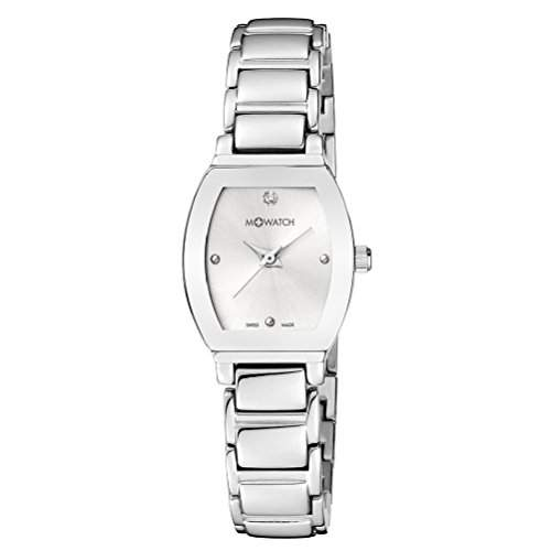 M-Watch Lady Chic Ladies Silver Stainless Steel Stone Set Watch A6583045601