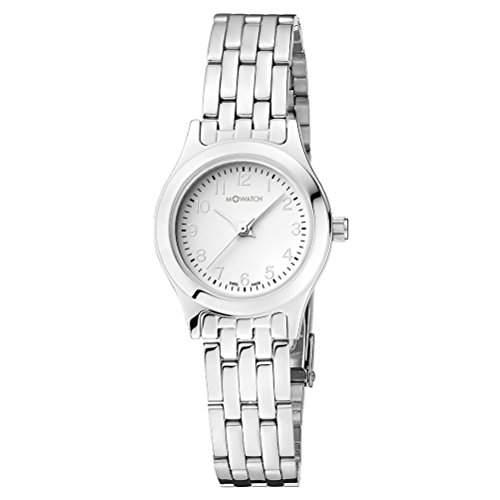 M-Watch Damen-Armbanduhr Analog Quarz Edelstahl MA6583059201