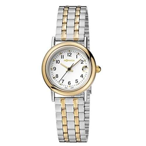 M-Watch Damen-Armbanduhr Analog Quarz Verschiedene Materialien MA629LAMB3CH10AF