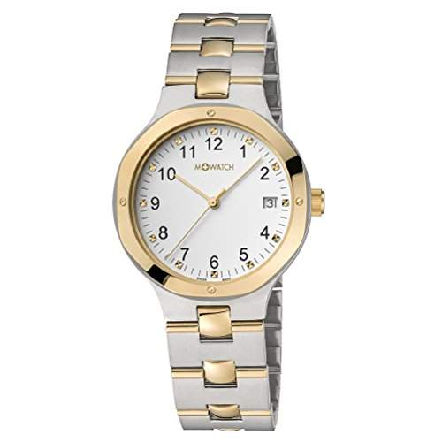 M-Watch Metal Classic Ladies Silver Stainless Steel Date Watch A6613054740