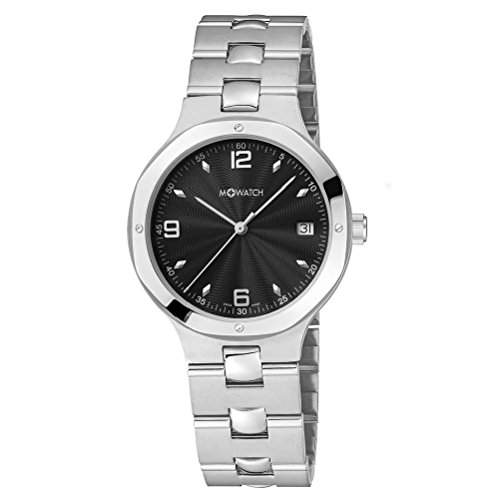 M-Watch Metal Classic Ladies Silver Stainless Steel Date Watch A6613054701