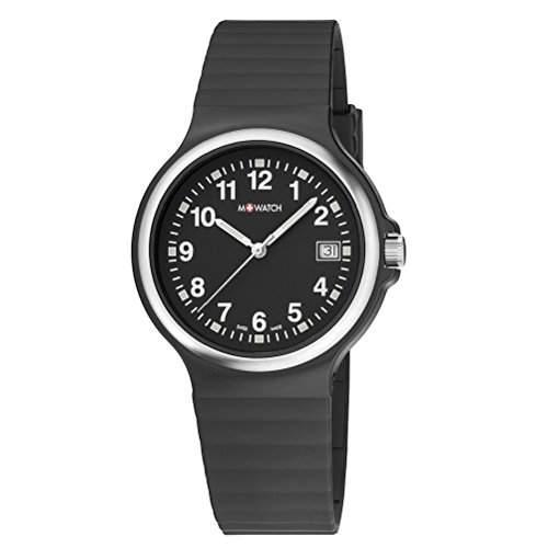 M-Watch Maxi Mens Black Date Watch A661MMA22020BI