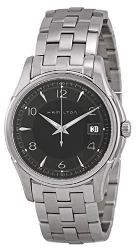 Hamilton Herren-Armbanduhr XL Analog Automatik Edelstahl H325050