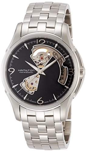 Hamilton Herren-Armbanduhr XL Chronograph Quarz Edelstahl H32612135