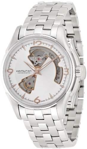 Hamilton Jazzmaster Open Heart Silber Uhr H32565155