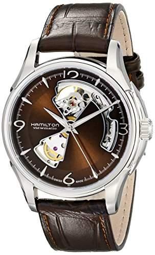 Hamilton Jazzmaster Open Heart Silber Uhr H32565595