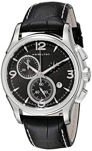 HAMILTON - Herren Uhren - JAZZMASTER CHRONO QUARTZ - Ref H32612735