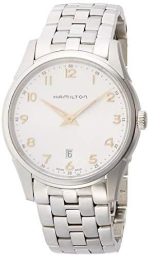 Hamilton Jazzmaster Thinline H38511113 Herrenarmbanduhr flach & leicht