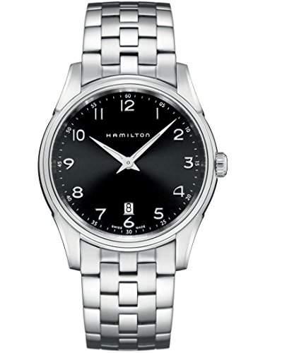 Hamilton Herren-Armbanduhr XL Analog Quarz Edelstahl H38511133