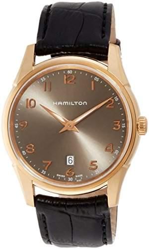 Hamilton Jazzmaster Thinline H38541783 Herrenarmbanduhr flach & leicht