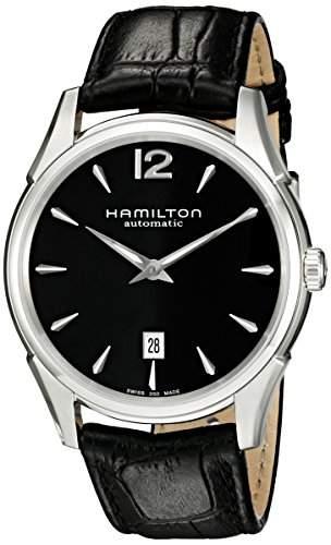Hamilton, Herren-Armbanduhr, XL, Analog Quarz, Leder, H38615735