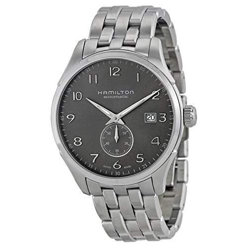 Hamilton Herren-Armbanduhr XL Analog Automatik Leder H38615735