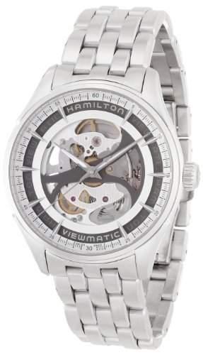 Hamilton Skeleton Gent Auto Silber Uhr H42555151