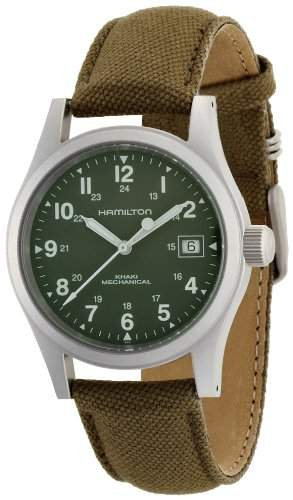 HAMILTON - Herren Uhren - HAMILTON KHAKI FIELD MECHANICAL OFFICER - Ref H69 419 363