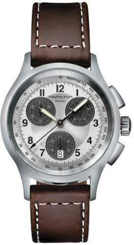 Hamilton Herren-Uhren Aviation Chronograph H76412553