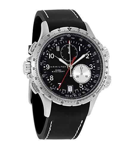 Hamilton Herren-Armbanduhr XL Analog Automatik Edelstahl H77612333