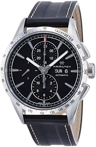 Hamilton Broadway Automatik Chronograph Grau Zifferblatt h43516731