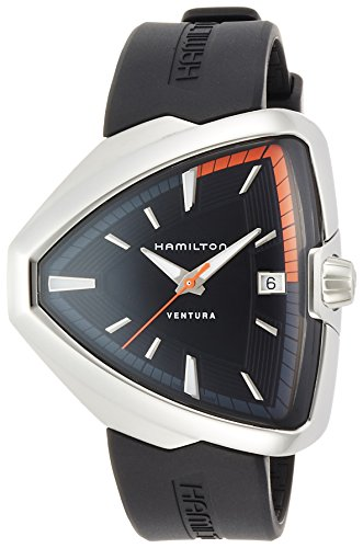 Hamilton Ventura Elvis H24551331 Elegante Herrenuhr Design Highlight