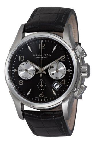 Hamilton Mens H32656833 Jazzmaster Auto Chrono Silver Watch