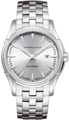 Hamilton Herren Armbanduhr XL Analog Automatik Leder H37755555