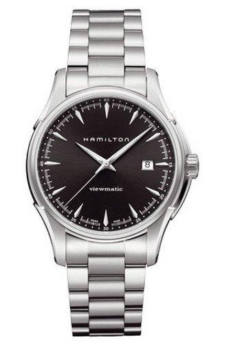 Hamilton Herren Armbanduhr XL Analog Automatik Edelstahl H32665131