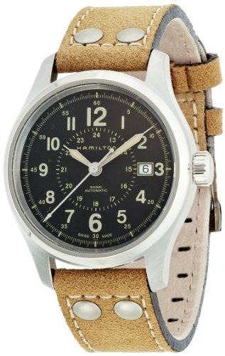 Hamilton XL Chronograph Automatik Leder H42615753