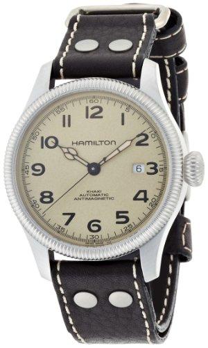 Hamilton Herren H60455593 Khaki Field Pioneer Silber Ton Zifferblatt