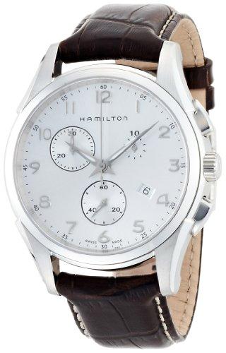 Hamilton HerrenArmbanduhr Chronograph Quarz Leder H38612553
