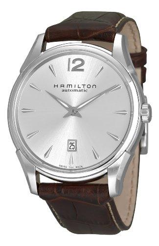 Hamilton Herren HML H38615555 Jazzmaster Slim Silber Zifferblatt
