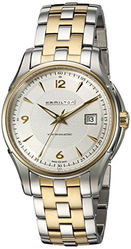 HAMILTON JAZZMASTER MENS STAINLESS STEEL CASE AUTOMATIC DATE UHR H32525155