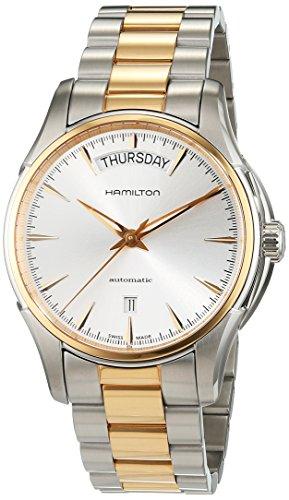 Hamilton Hamilton Jazzmaster Silber Zifferblatt Zweifarbig Mens Watch H32595151